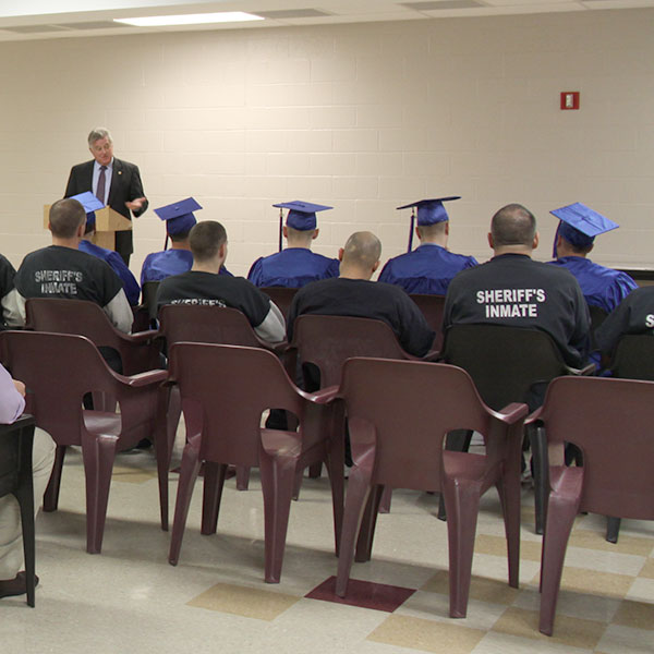 Cape Cod Jail Graduation