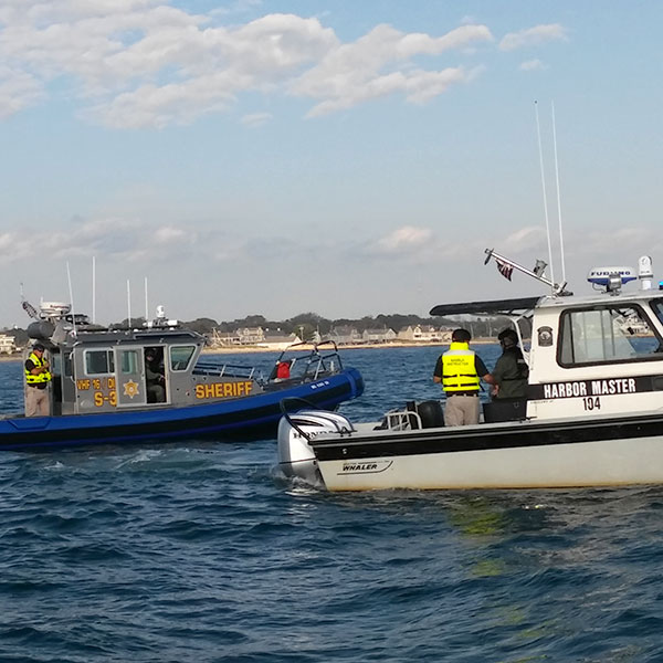 Cape Cod Sheriff Marine Patrol