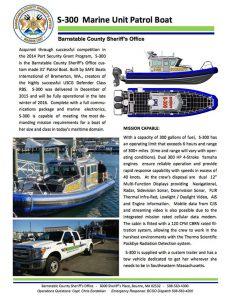 marine unit patrol boat