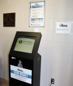 Inmate funds kiosk