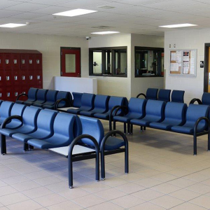 Prison Visitor waiting area