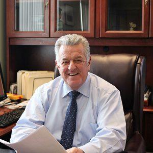Cape Cod Sheriff Cummings at desk