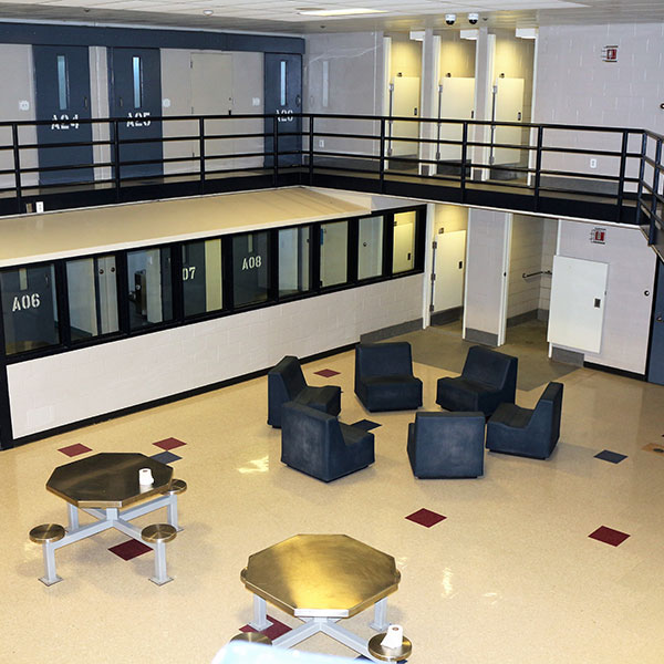Cape Cod Prison Living Area