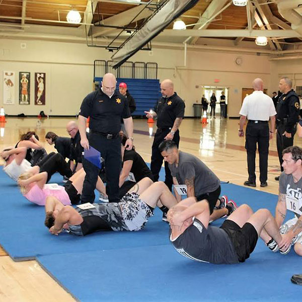 recruits physical fitness test