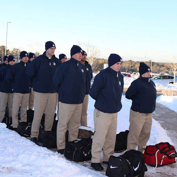 CO Recruits Training in the snow