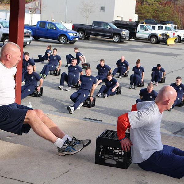 Recruit crunches