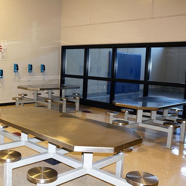 inmate common area