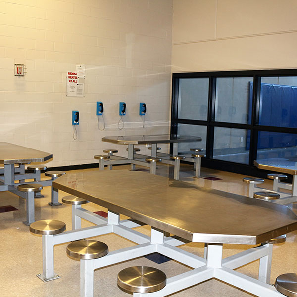 prisoners dining room