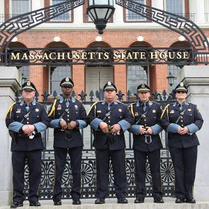 Honor Guard at the State House
