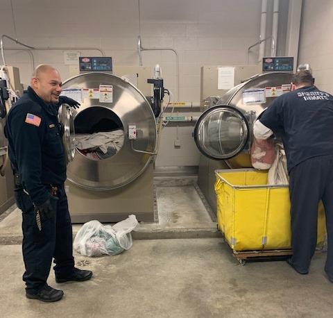 inmate laundry January